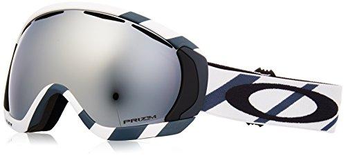 Oakley Canopy Snow Goggles, Hazard Bar Slate Ice Frame, Prizm Black Iridium Lens, - Goggles Iridium Oakley