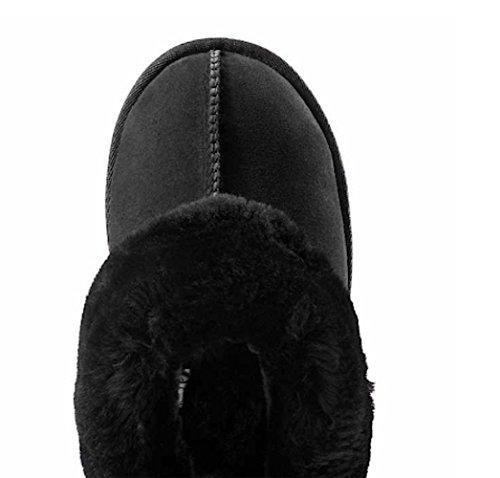 Kirkland Signature ™ Pantoufle En Peau De Mouton Pour Femme - Noir Taille 10