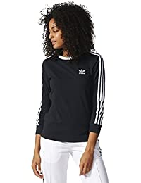 Women's 3-Stripes Long-Sleeve Tee