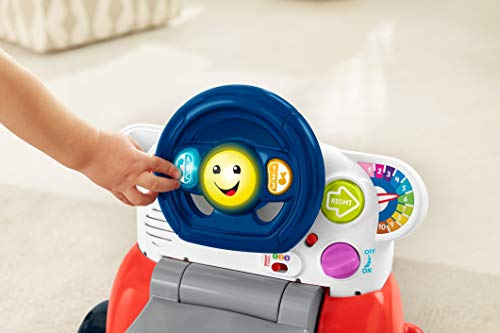 41uulAZwm3L - Fisher-Price Laugh & Learn 3-in-1 Smart Car