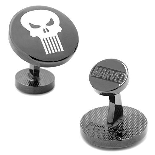 Cufflinks Marvel The Punisher, Officially Licensed -