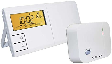 Thermostat dambiance programmable hebdomadaire sans fil