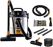 Aspirador de Pó e Água WAP GTW INOX 12 1400W 12 Litros 160 mbar Barril Aço Inox com Soprador 127V