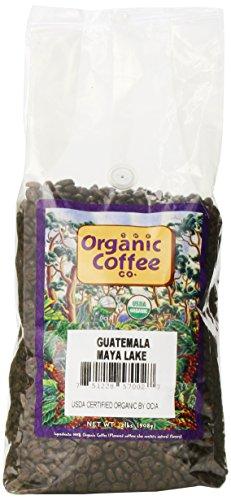The Organic Coffee Co. Whole Bean, Guatemala Maya Lake, 32 Ounce