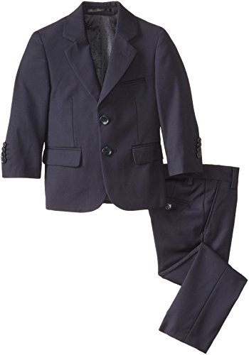 e0d8846fb3c8 Isaac Mizrahi Black Label Little Boys  Slim-Fit Wool 2 Piece Solid ...