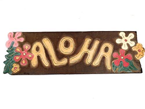 Hawaii Aloha Flowers Tiki Bar (VINTAGE HAWAII