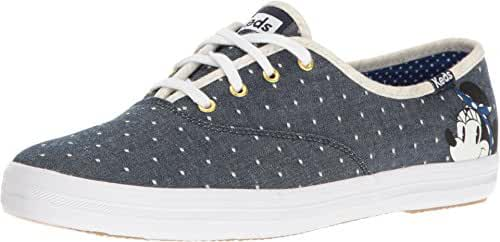 Keds Women's Champion Minnie Polka Dot/ Pique Chambray Fashion Sneaker
