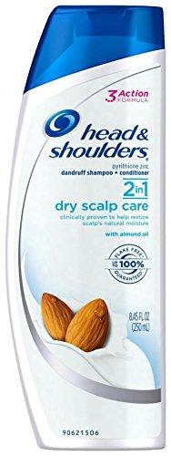 Head & Shoulders Dry Scalp Care 2-in-1 Dandruff Shampoo + Conditioner - Almond Oil - 8.45 oz