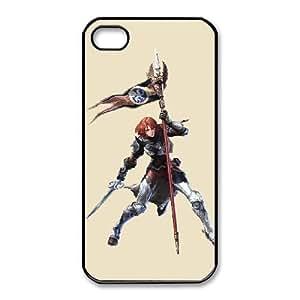 iPhone 4 4s Cell Phone Case Black hilde soulcalibur v Popular games image WOK1029545