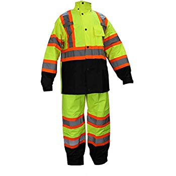RK Safety Class 3 Rain suit, Jacket, Pants High Visibility ...