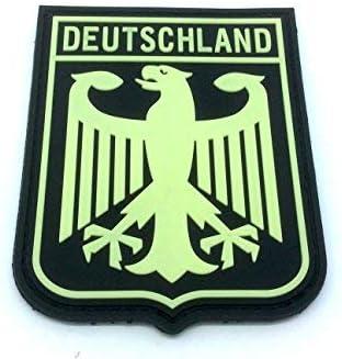 Patch Nation Deutschland Escudo de Armas Imperial Eagle Brilla en ...