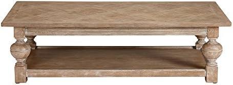 Amazon.com: Ethan Allen Deacon mesa de centro rectangular ...