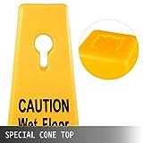 BestEquip 6 Pack Floor Safety Cone, 26-Inch Wet
