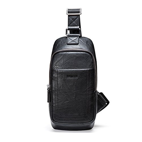 Shoulder Men One Leisure 2 Bag Pack Polyester 1 color Fashion T Chest Qidi T Crossbody 4ExHwqp0