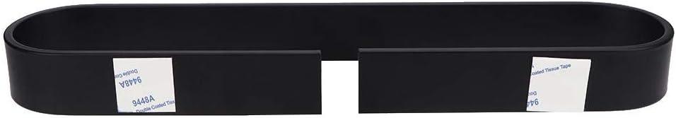 Fdit Porte-Serviettes en Aluminium pour Salle de Bain Support Mural sans Perforation pour Porte-Serviettes Noir