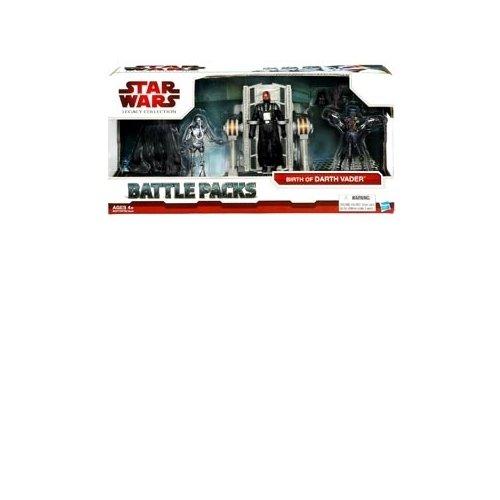 "Star Wars 3.75"" Battle Pack Asst - Birth of Darth Vader"