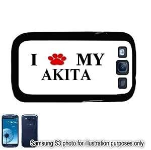 Akita Dog Paw Photo Samsung Galaxy S3 i9300 Case Cover Skin Black