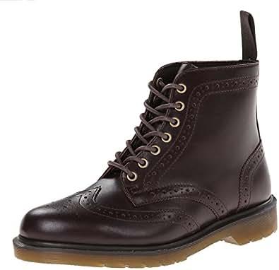 Dr martens men 39 s affleck boot dark brown 6 for Amazon dr martens
