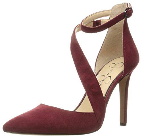 Jessica Simpson Womens Castana Dress Pump Port Red cqPBb