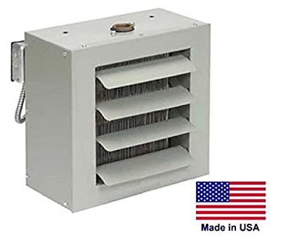 Unit Heater - Steam & Hot Water Commercial - Fan Forced - 18,000 Btu - 115 Volt