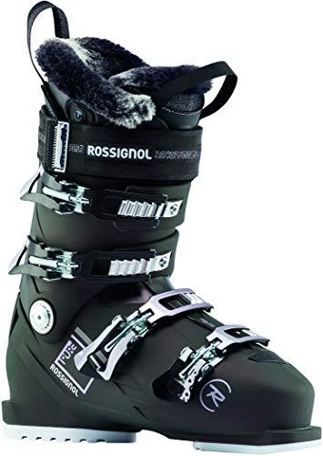 Rossignol Pure Heat Ski Boots Womens Sz 7.5 (24.5) Black