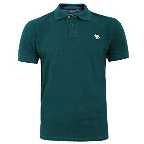 7338b6816f7b9f Paul Smith Men's Zebra Polo T Shirt Black, Burgundy, Grey, Navy S/