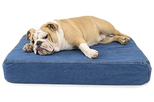- K9 Ballistics Orthopedic Denim Bed Indigo - Small (18