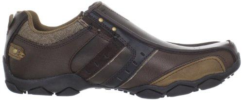 Skechers Diameter Heisman - Zapatillas para hombre Marrón (Braun/Brn)