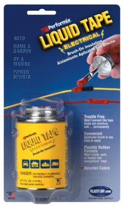Plastic Dip Intl. LET14Z01 Liquid Electrical Tape Bottle