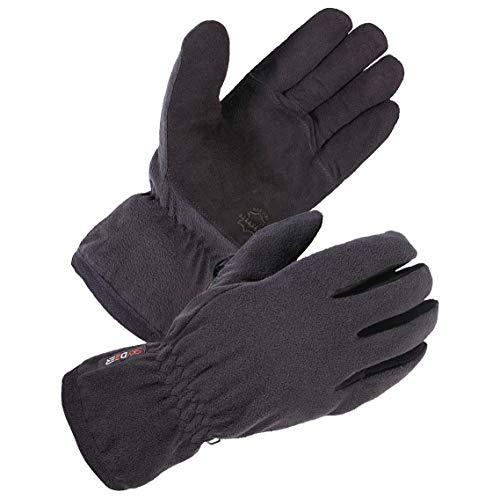 - SKYDEER Women Winter Work Gloves with Soft Deerskin Suede Leather and Warm Windproof Polar Fleece (SD8664T/L)