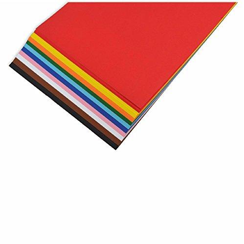 Tonpapier A4 100 Blatt 10 Farben sortiert