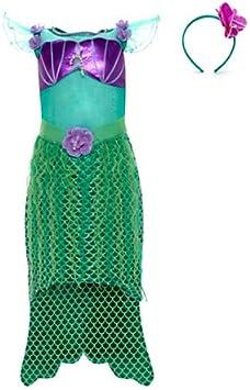 Original auténtica Disney Store, Ariel (La Sirenita) Disfraz lujo ...
