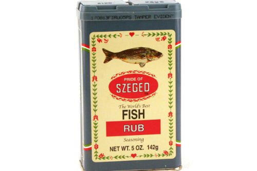 Fish Rub Seasoning - 5oz (Pack of 3) ()