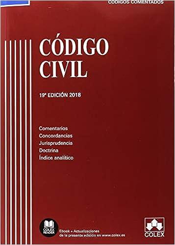 Código Civil: Comentarios, concordancias, jurisprudencia, doctrina e indice analítico Código Comentado: Amazon.es: Vv.Aa, Vv.Aa: Libros