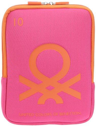 Hombre 4 72862 Bolso Colors Benetton Of United Combo Fuschia 78gXqX