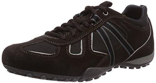 Braun Coffeec6421 Mud Y U Snake Geox Sneaker Uomo Marrone 0xwqOYx1T8