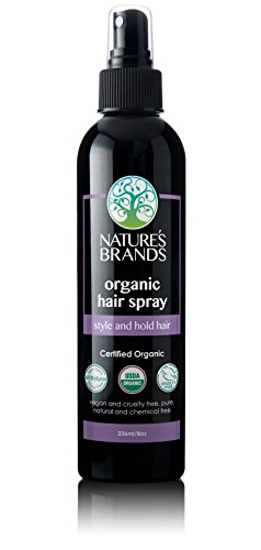 Herbal Choice Mari Organic Hair Spray; 8oz (Best All Natural Hairspray)
