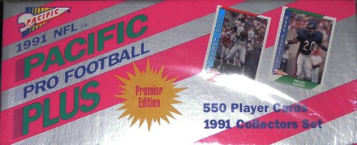 1991 Pacific Football Cards Unopened Factory Set (550 Different ...