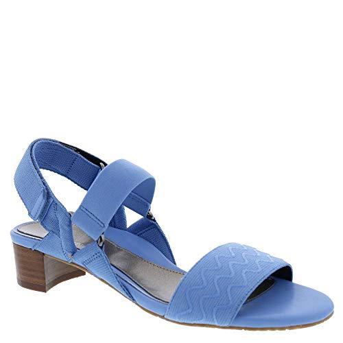 Ros Hommerson Virual 67034 Women's Casual Sandal: Blue/Elastic 8.5 Narrow (2A) Velcro