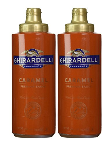 Ghirardelli Caramel Flavored Sauce 17 oz. Squeeze Bottle (Pack of (Mini Milk Chocolate Bottle)