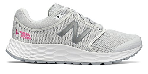 (ニューバランス) New Balance 靴?シューズ レディースウォーキング Fresh Foam 1165 Komen White with Pink Glo ホワイト ピンク グロー US 6.5 (23.5cm)