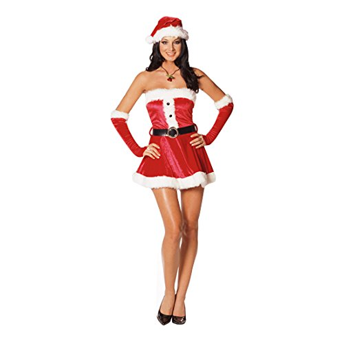 Dreamgirl Women's Santa's Sweetie (Woman Santa Costume)