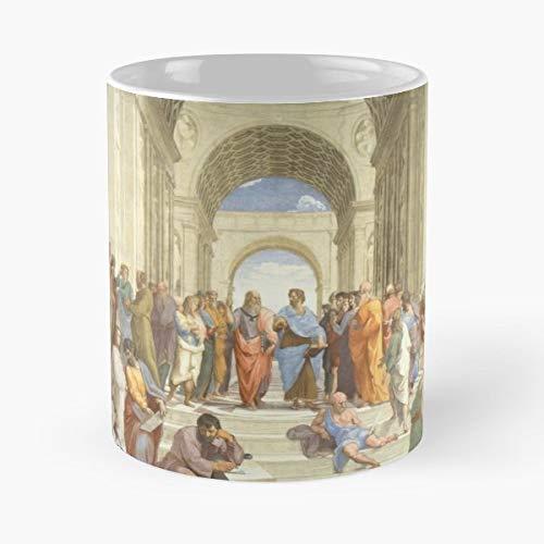 School Athens Renaissance Raphael - Coffee Mug 11 Oz Funny Gift ()
