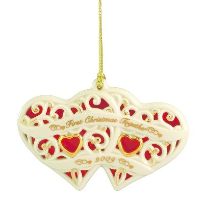 Lenox Heart (Lenox 2009 Together for Christmas Heart Ornament)