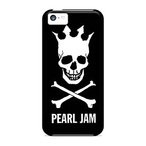 Durable Hard Phone Cover For Apple Iphone 5c (XYU3962nZzX) Provide Private Custom Realistic Pearl Jam Pattern