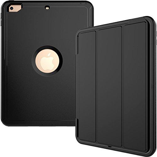 iPad 9.7 Case 2018/iPad 9.7 2017 Case,Hybrid Shockproof Rugg