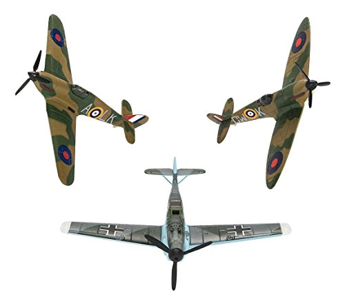 Aircraft Corgi Models (S90691 Corgi Battle Of Britain WW2 Fighters Spitfire Hurricane Messerschmitt)