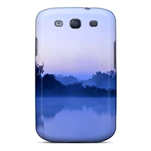 Snap On Case Cover Skin For Galaxy S3(river Fog)