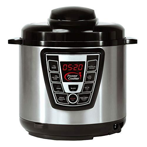Power Cooker Digital Electric Pressure Cooker 6-Quart