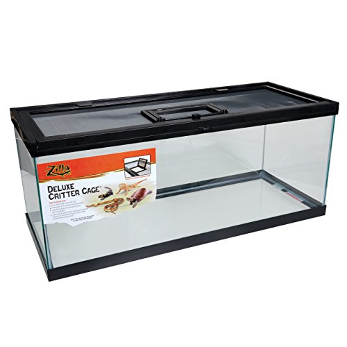 Zilla 13234 Deluxe Critter Cage with Feeding Door, 20 Gallon